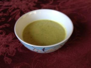 curried zucchini soup 2