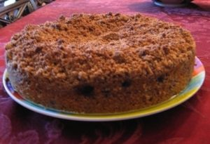 Sprouted Coffee Cake